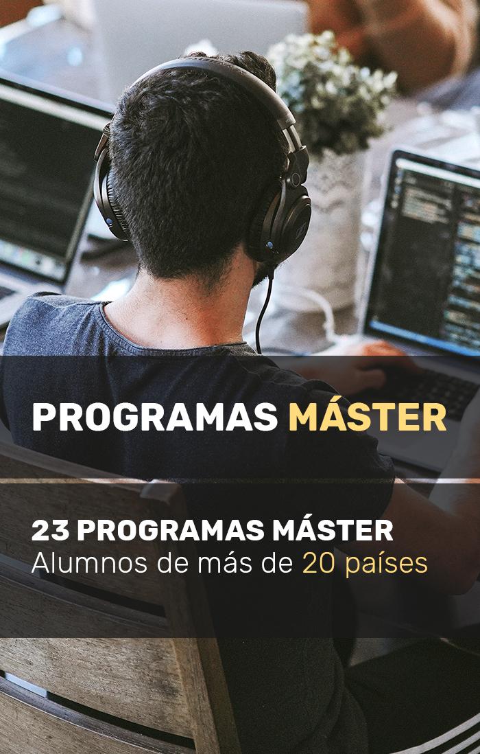 Programas Máster