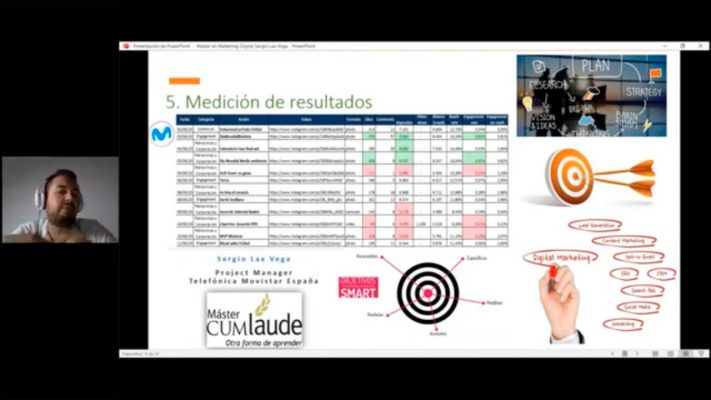 Sergio Lax Webinar - Éxito en redes sociales
